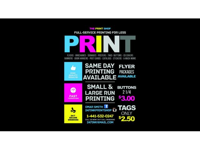 24/7 Ink The Print Shop