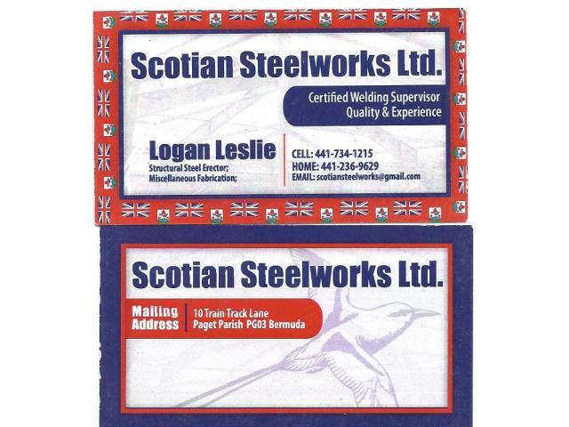 Scotian Steelworks Ltd.