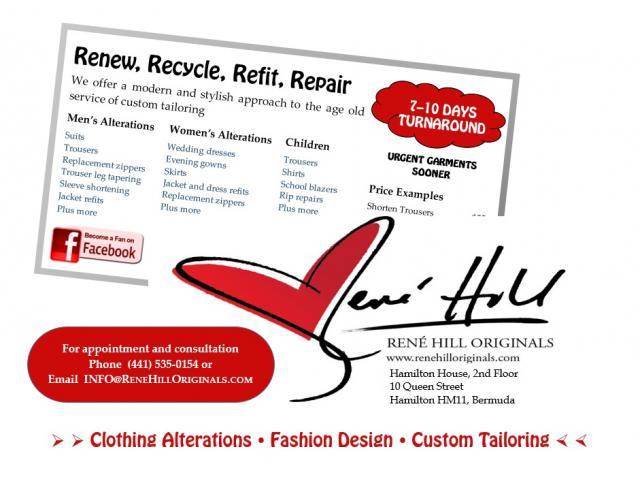 Rene Hill Originals Tailoring & Design Studio